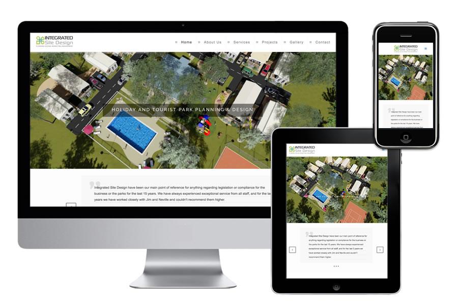 webpub integrated site design